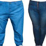 jeans tallas extras para gordos