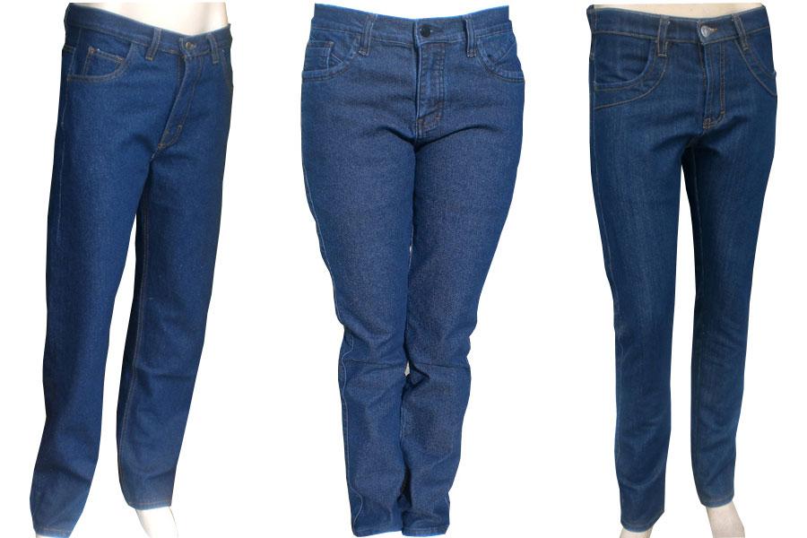 pantalones jeans para uniforme