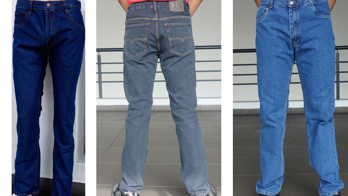 jeans clásicos hombres