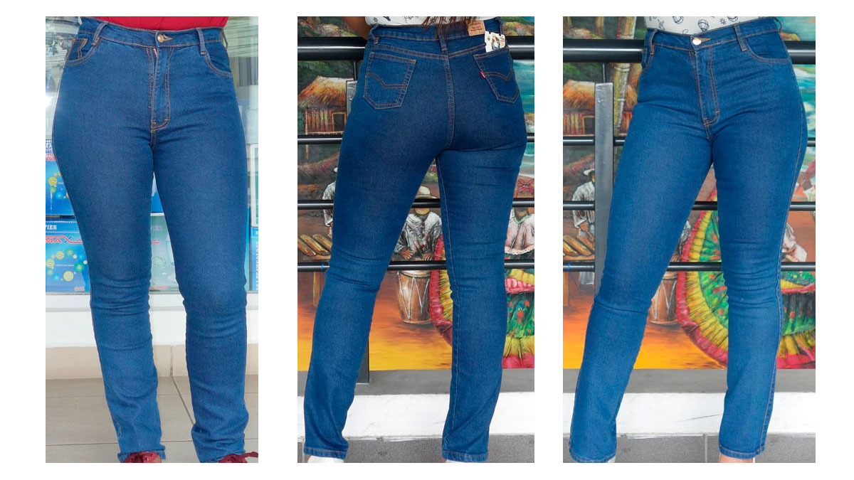jeans clásicos para mujeres